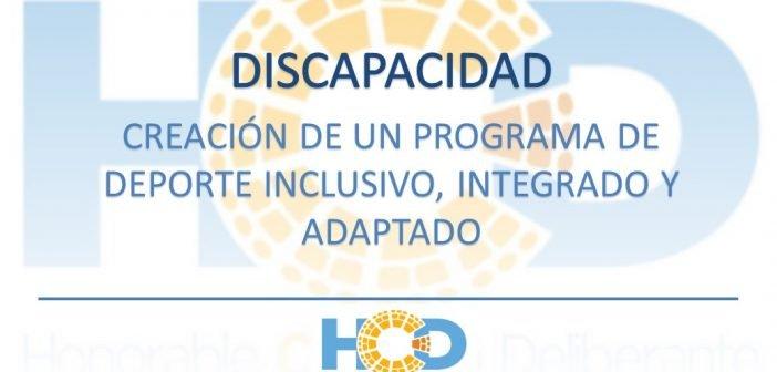 CREACIÓN DE PROGRAMAS DE DEPORTE INCLUSIVO, INTEGRADO Y ADAPTADO.