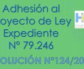 RESOLUCIÓN N° 124/2.021